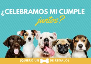 Invitación de cumpleaños perro