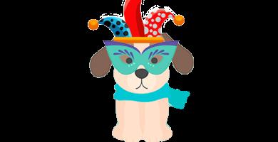 Disfraz para perro en Carnaval