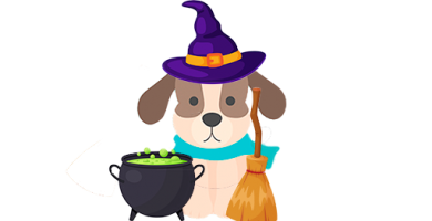 Disfraz para perro en Halloween