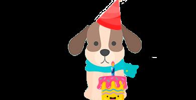 Disfraces perro en cumpleaños