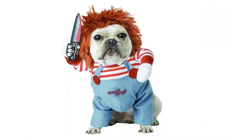 disfraz de chucky para perro precio